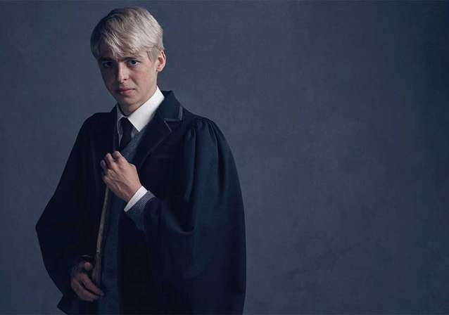 Anthony Boyle is HARRY POTTER's Scorpius Malfoy