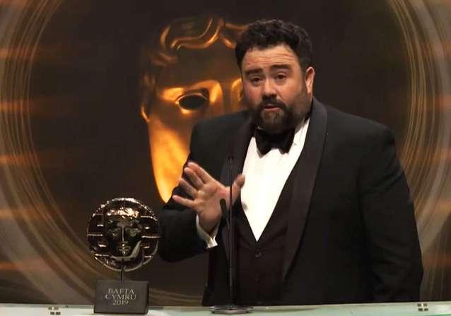 Celyn Jones Wins 2019 BAFTA Cymru Award