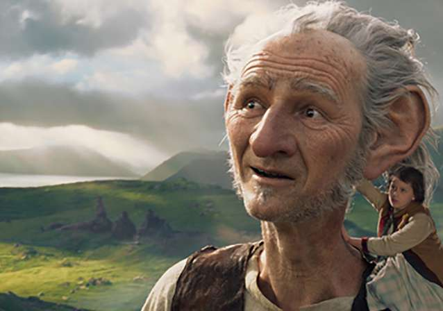 First Look at Mark Rylance as THE BFG!