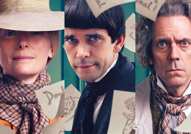 Hugh, Tilda, Ben & Bronagh Star In ...DAVID COPPERFIELD