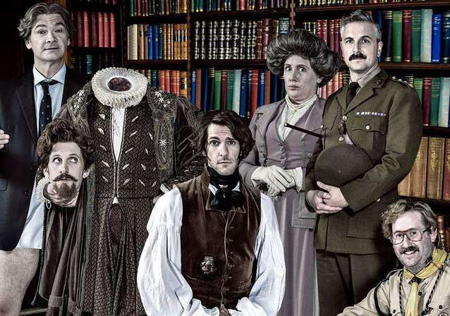 So Haunt Me! Mathew Baynton's GHOSTS Arrives On BBC One