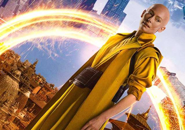 Tilda Swinton is The Ancient One in DOCTOR STRANGE