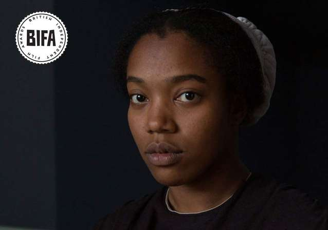 Two 2017 BIFA Noms for Naomi Ackie!
