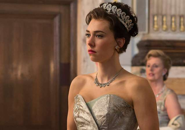Vanessa Kirby Steals THE CROWN!