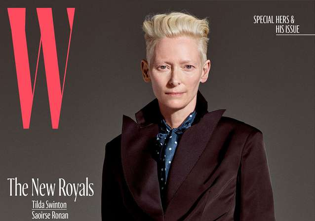 Watch Tilda Swinton's 'Royal' Screen Test